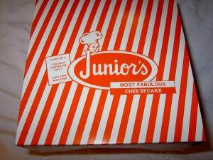 junior's cheesecake man