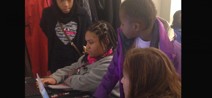 young black girls in STEM